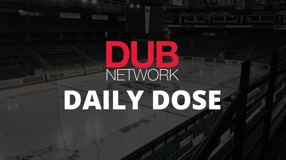 Daily Dose of the Dub: Rockets had Memorial Cup jerseys designed