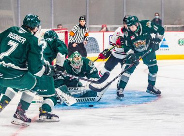 Dustin Wolf and the Everett Silvertips